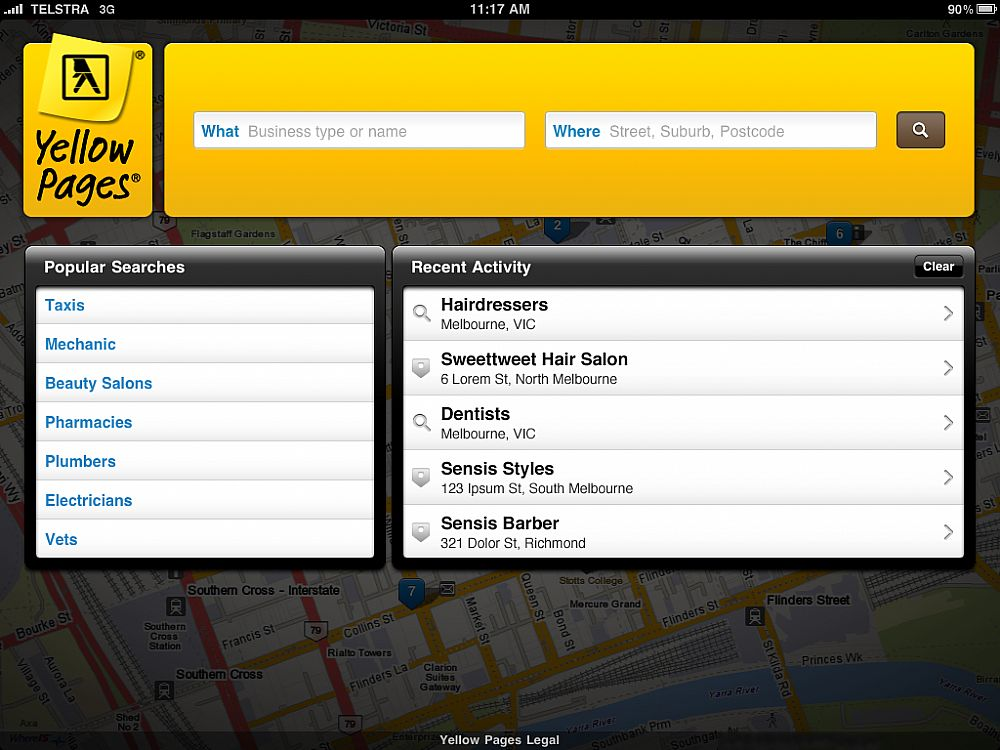 yellowpages melbourne health