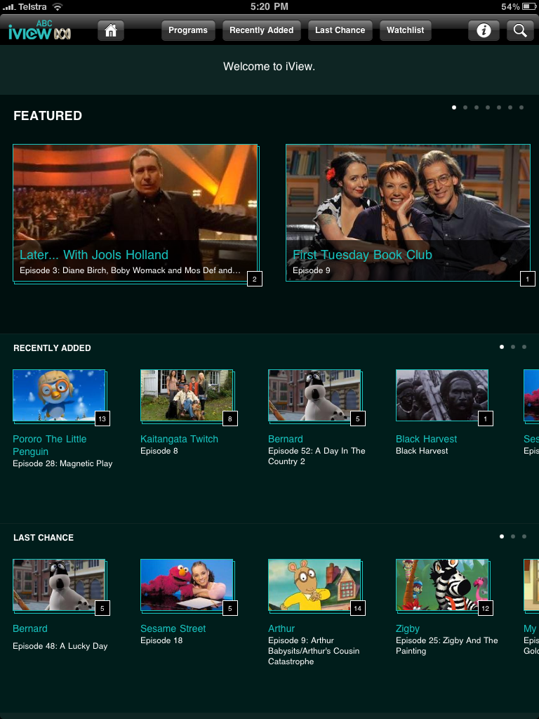 How do I watch abc iview on apple TV? - Apple Community